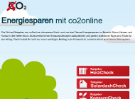 Screenshots der Energiesparratgeber von co2online in Facebook